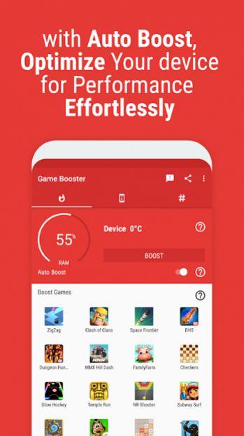 Game Booster mod mở khóa pro