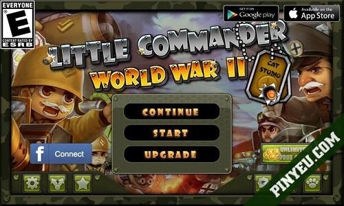 Tải Little Commander mod vô hạn tiền