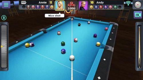 3D Pool Ball mod đường kẻ