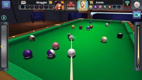 3D Pool Ball mod đường nhắm mục tiêu dài