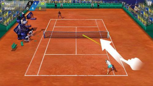 tải game Quần vợt 3D