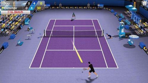 3D Tennis mod vô hạn tiền