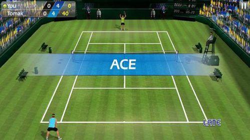 3D Tennis quần vợt