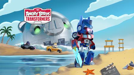 Chơi game Angry Birds Transformers mod