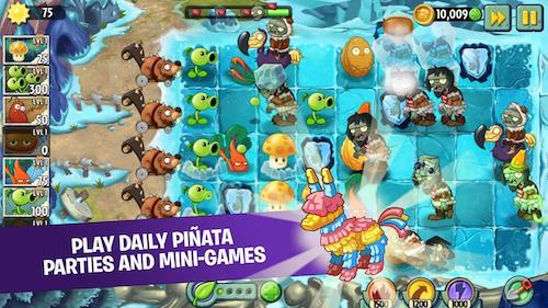 Tải game Plants vs Zombies 2 mod kim cương