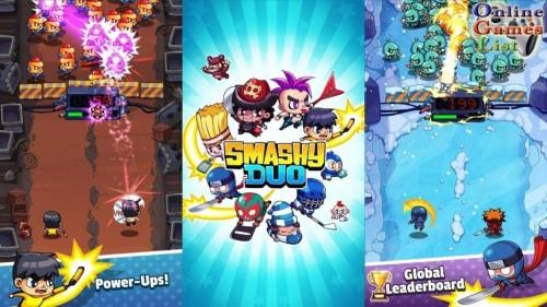 Smashy Duo mod vô hạn tiền