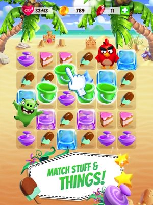 Angry Birds Match Mod cho Android