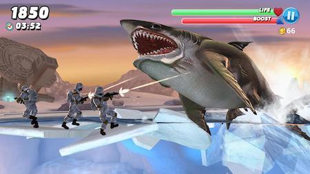 Hình ảnh Hungry Shark World Mod full tiền