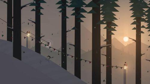 Game trượt tuyết Alto's Adventure