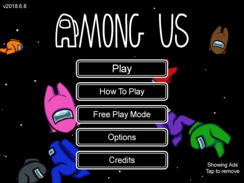 Among Us mod unlocked all