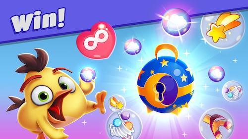 Angry Birds Dream Blast phá bong bóng