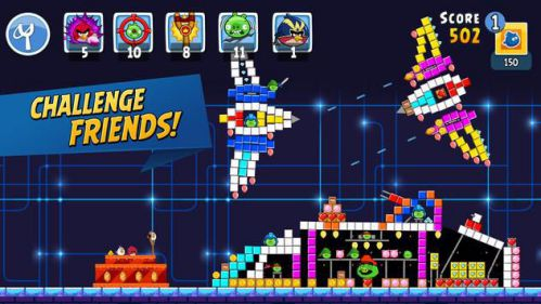 Angry Birds Friends game bắn chim