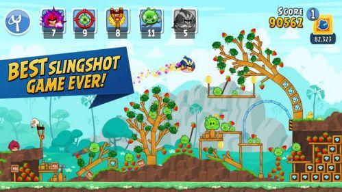 Angry Birds Friends nhiều người chơi