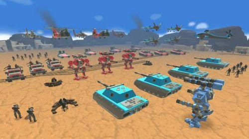 Army Battle Simulator chiến lược