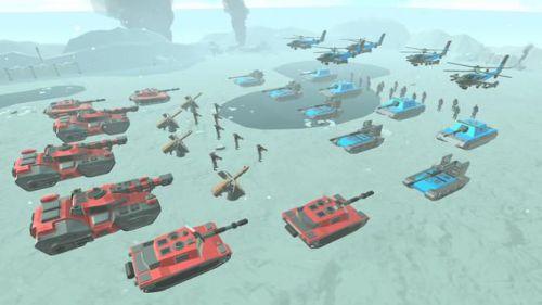 Army Battle Simulator mod kim cương