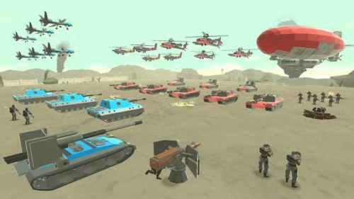 Army Battle Simulator mod vô hạn tiền