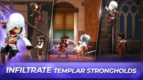 Assassin's Creed Rebellion mod mở khóa nhân vật