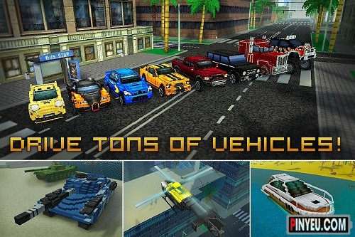 Game hay cho android Block City Wars