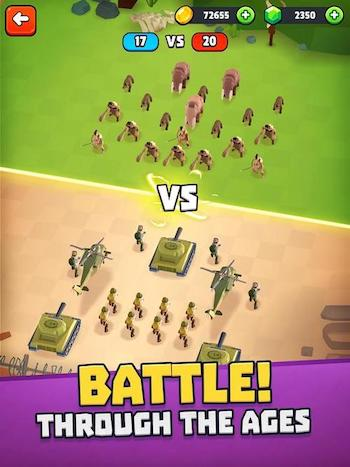 Battle Simulator: Warfare mod mua sắm