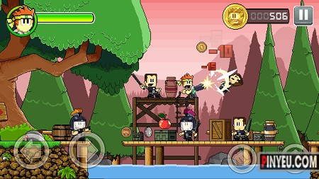 Dan The Man game hay cho android