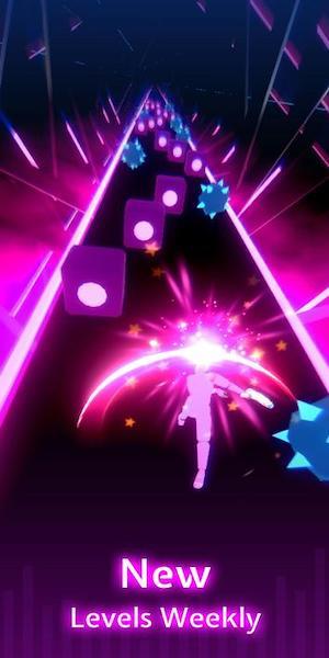 Beat Blade game âm nhạc kết hợp vũ khí đặc sắc