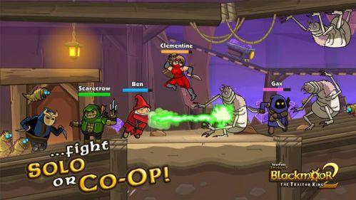 Blackmoor 2 game tiêu diệt quái vật
