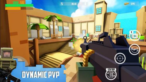Block Gun mod vô hạn tiền