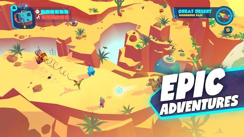 Botworld Adventure mod mua sắm