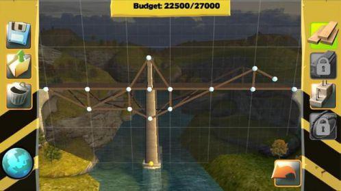 Bridge Constructor game giải đố