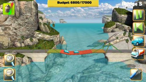 Bridge Constructor xây cầu