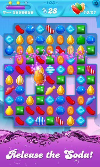 Candy Crush Soda Saga mod money