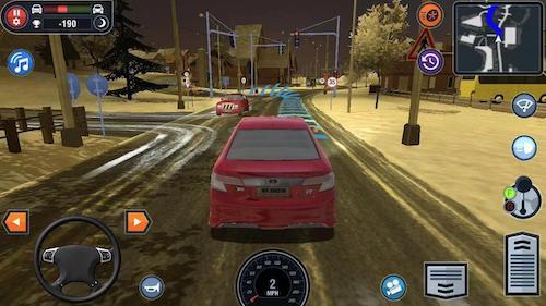 Car Driving School Simulator mod mở khóa