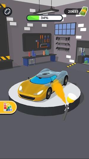 Car Master 3D game sửa xe