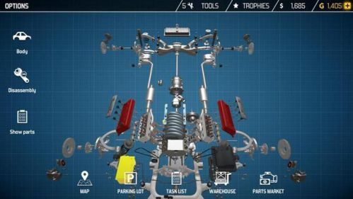 Car Mechanic Simulator buôn bán xe hơi