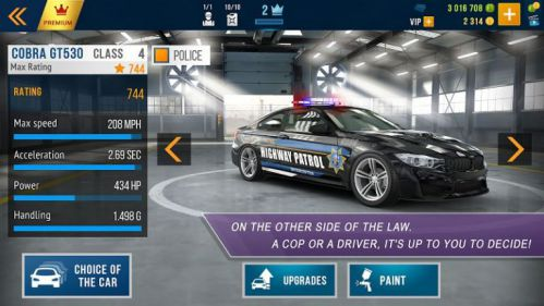 CarX Highway Racing mod money
