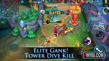 Tai game Mobile Legends hack map