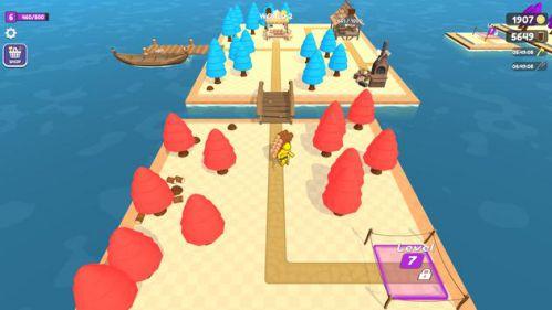 game xây dựng trên đảo
