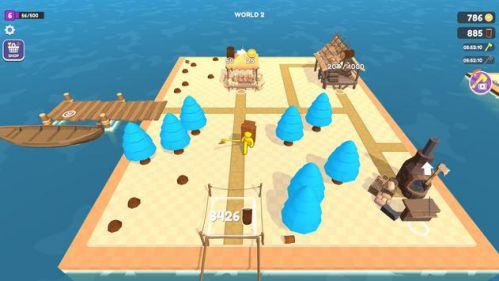 Craft Island mod mở khóa