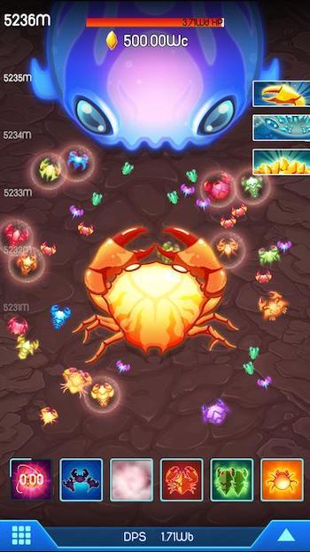 Crab War mod vô hạn ngọc trai