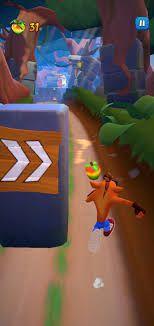 Crash Bandicoot chạy vô tận