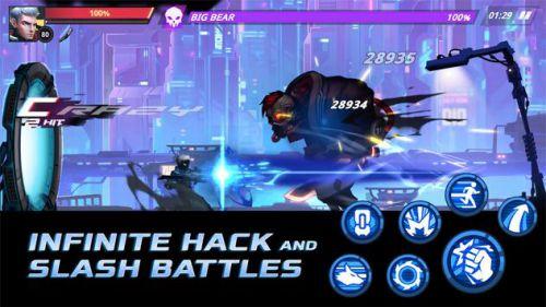 Cyber Fighters mod vô hạn tiền