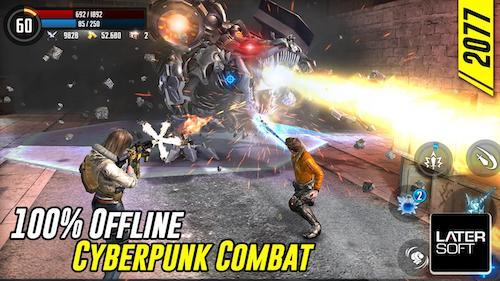 Cyber War: Cyberpunk Reborn mod mua sắm