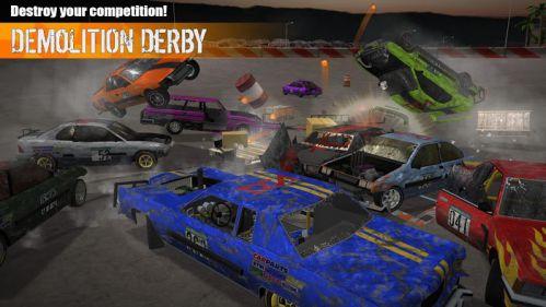 Demolition Derby 3 mod vô hạn tiền