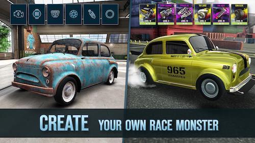 Drag Battle 2 mod không quảng cáo nhận thưởng
