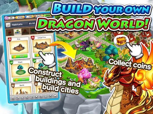 Dragon x Dragon game huấn luyện rồng