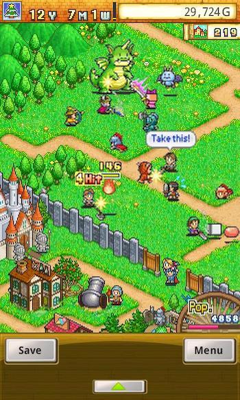 game xây dựng thị trấn huyền thoại