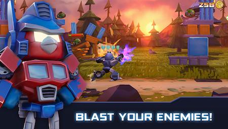 Tai game Angry Birds Transformers apk