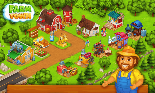 Tải game Farm Town: Happy Farming Day