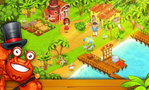 Farm Island: Hay Bay City Paradise mod vô hạn tiền