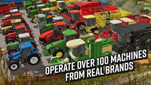 Farming Simulator 20 thu hoạch trái cây